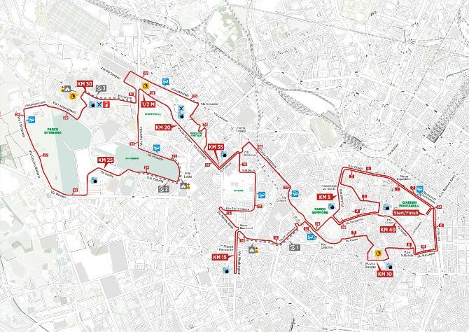 Percorso Maratona Milano 2019