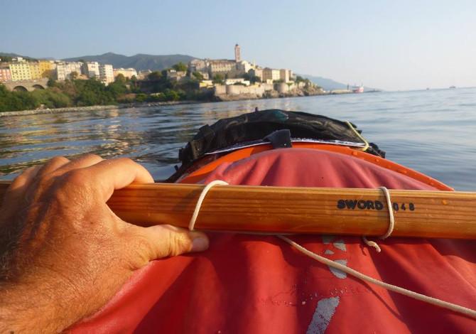 Corsica in kayak Bastia