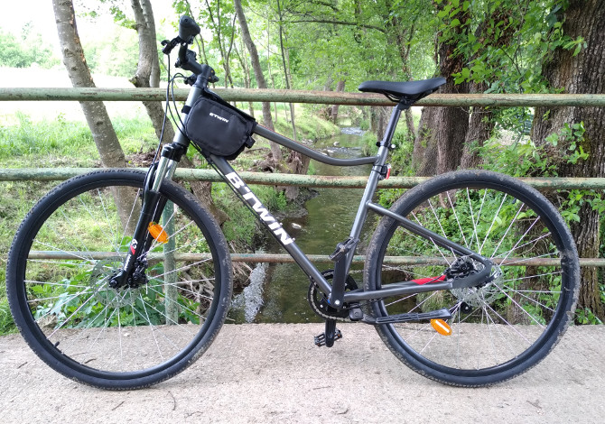 Bici Decathlon Riverside 500