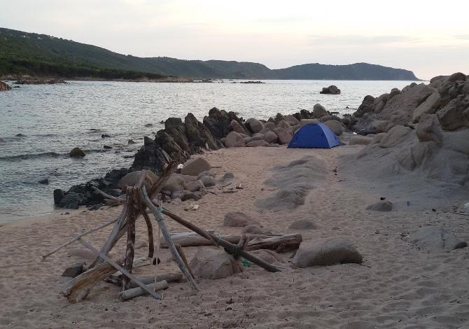 Corsica in kayak punta Castagna