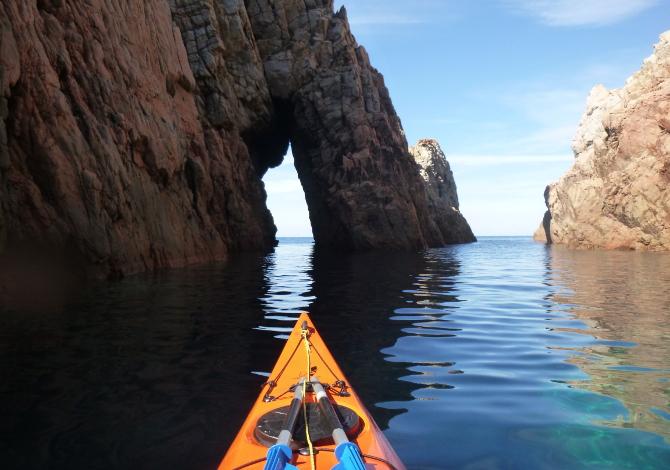 Corsica in kayak Capo Rosso