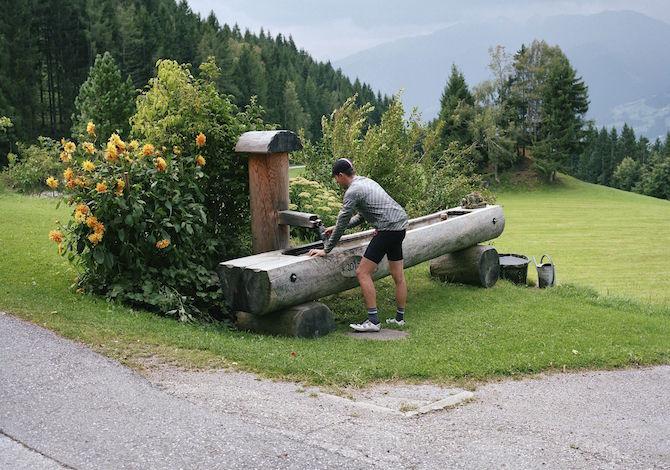 tirolo-Bici-da-corsa-Alpbachtal-Kerschbaumersattel-Tirol-Werbung-George-Marshall