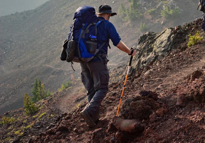 Come si usano i bastoni da trekking