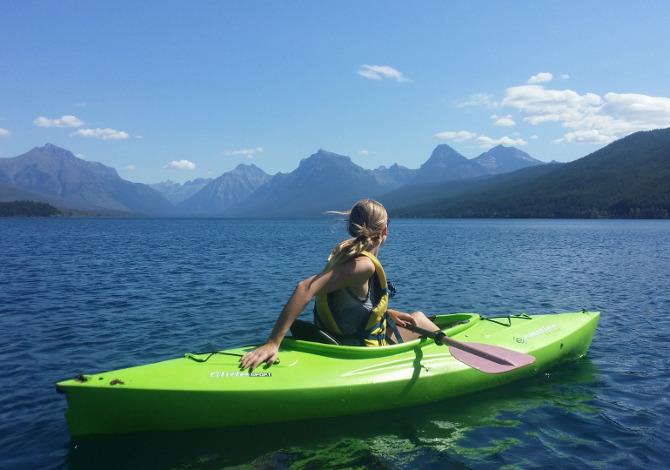 I migliori laghi per il kayak
