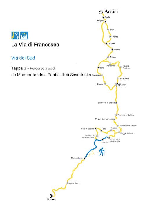 la-via-di-san-francesco-mappa