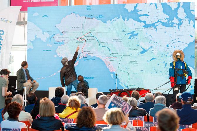 Maurizio Belli e Fulvio Giovannini: la nostra traversata dell'Alaska con la superslitta