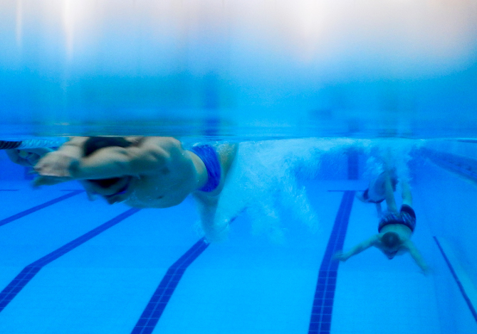 nuoto libero regole