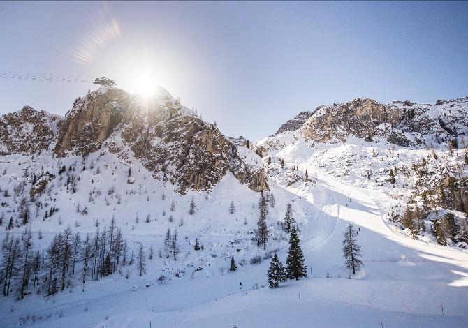 Perché è così bello sciare