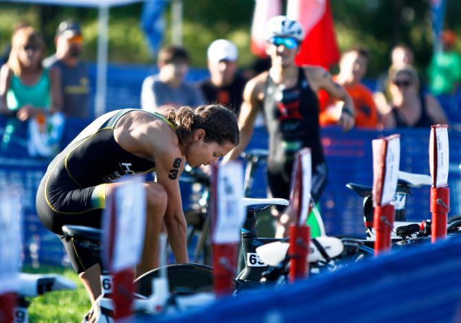 gara di triathlon: cosa mangiare prima, durante e dopo