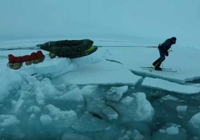 Mike Horn - North Pole Crossing: il video dell'avventura nell'Artico