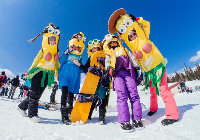Carnevale in montagna a sciare con i bambini