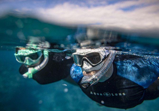 Aqua Lung Versa, la maschera da snorkeling con visione panoramica