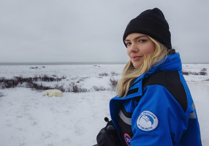 Kate Upton e il documentario sugli orsi polari con Canada Goose - SportOutdoor24
