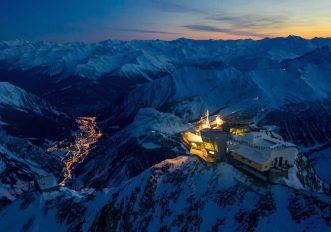 sul-Monte-Bianco-di-notte