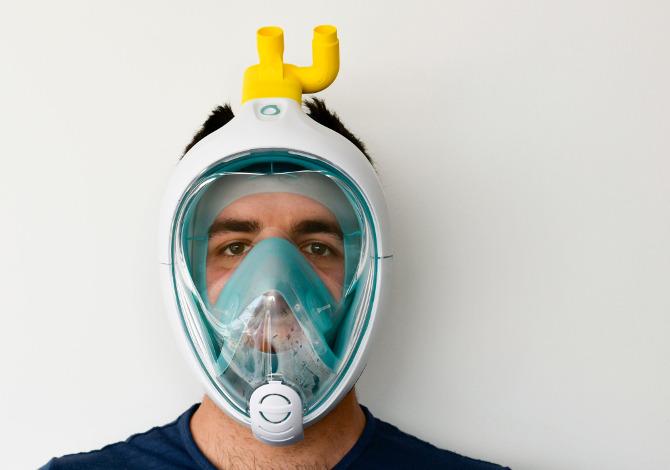 La maschera di Decathlon contro il Coronavirus: la sperimentazione a Brescia