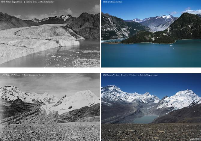 Mostra Sulle tracce dei ghiacciai