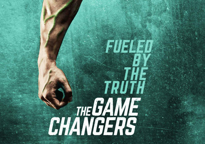 THE GAME CHANGERS DOCUMENTARIO NETFLIX ALIMENTAZIONE VEGANA SPORTIVI