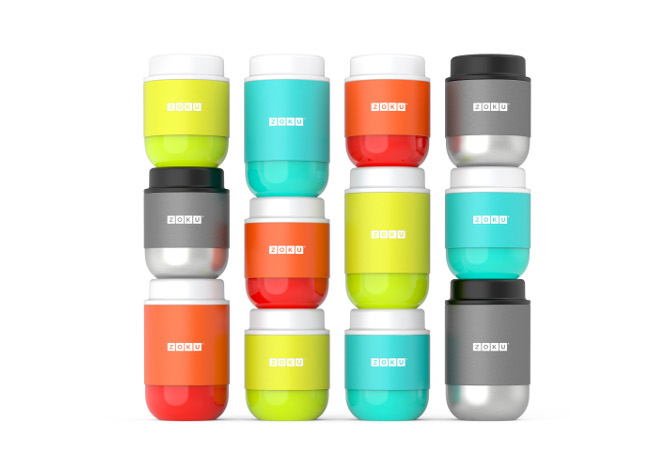 Zoku Neat Stack Food Jar