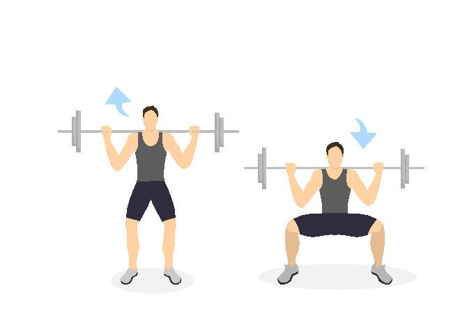 esercizi per allenare le gambe