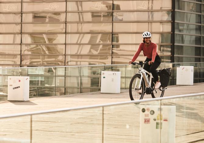 Usare la bicicletta elettrica in città