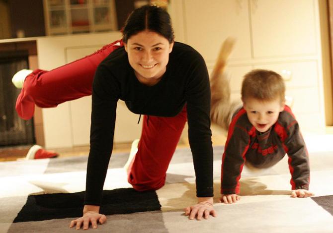 bambini in dad idee per fare movimento