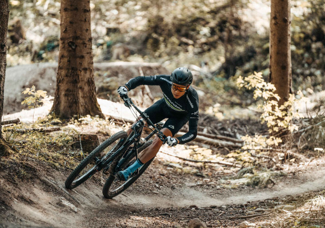 occhiali per andare in mountain bike