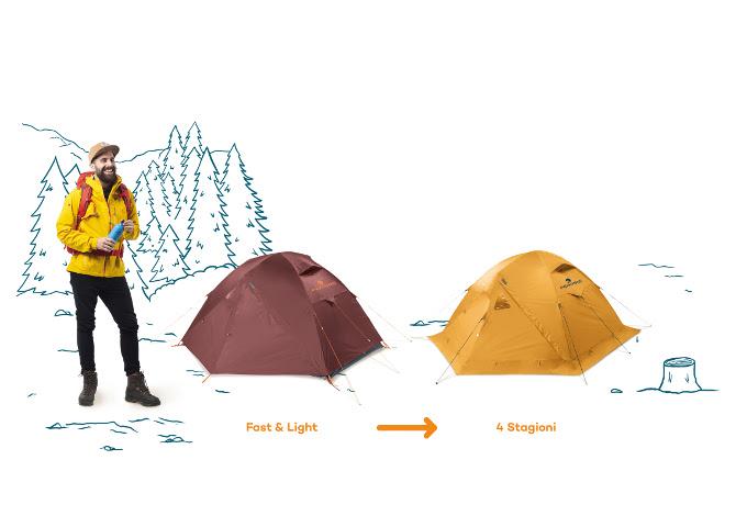 Ferrino Tent Set
