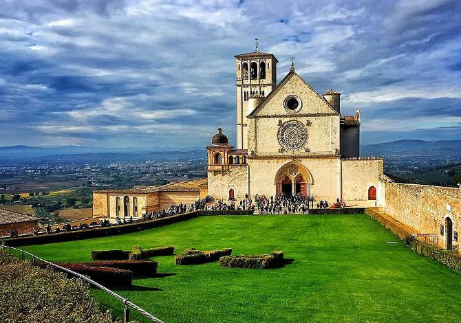 Cammini dell'Umbria San Francesco San Benedetto