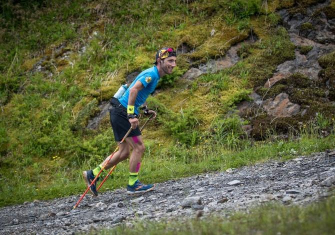 Il record mondiale di dislivello è dell'aprichiese Luca Manfredi Negri - Foto Maurizio Torri