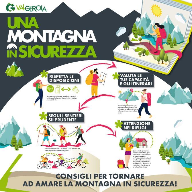 Valgerola Safe montagna in sicurezza