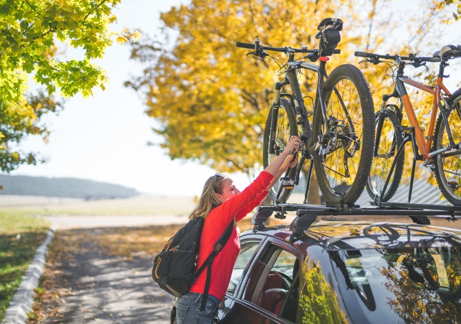 bici e portabici