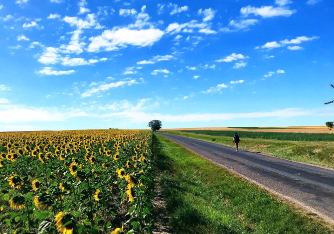 La mia Via Francigena a piedi: da Corbeil a Besançon