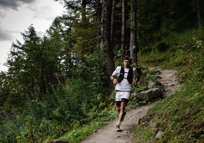 Pau Capell Tour MOnt Blanc solitaria record@TMB©JamesPoole