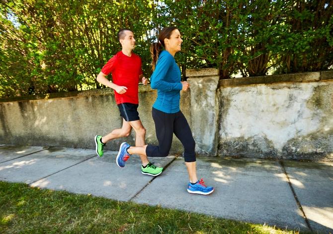 correre per il piacere di correre