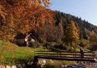 Valle del Chiese in autunno