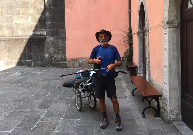 Via Francigena a piedi: dal Po a San Miniato superando gli Appennini