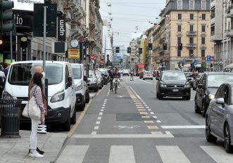 bike lane a milano