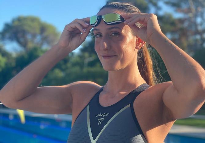 Georgia Davies entra nel Team Phelps di nuoto