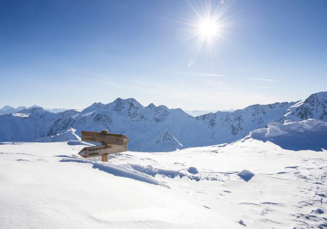Inverno 2020 / 2021 in Alto Adige Val Senales