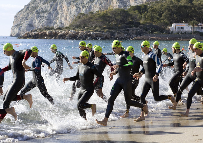 Muta da triathlon, per il nuoto in acque libere