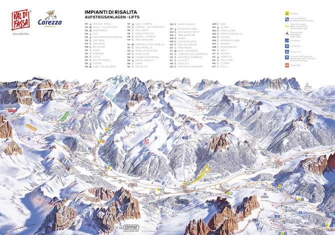 Val-di-Fassa-sci-skimap-cartina