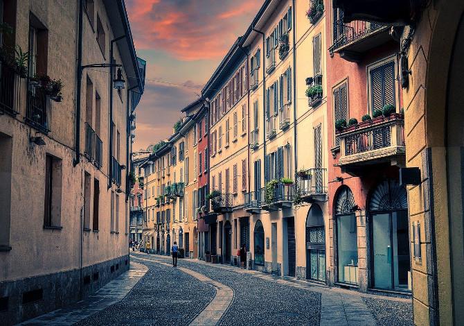 camminare a Milano