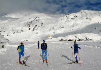 A Riale, in Alta Val Formazza, si torna a fare sci di fondo