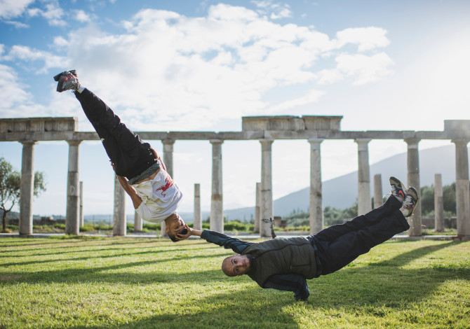 Breakdance alle Olimpiadi