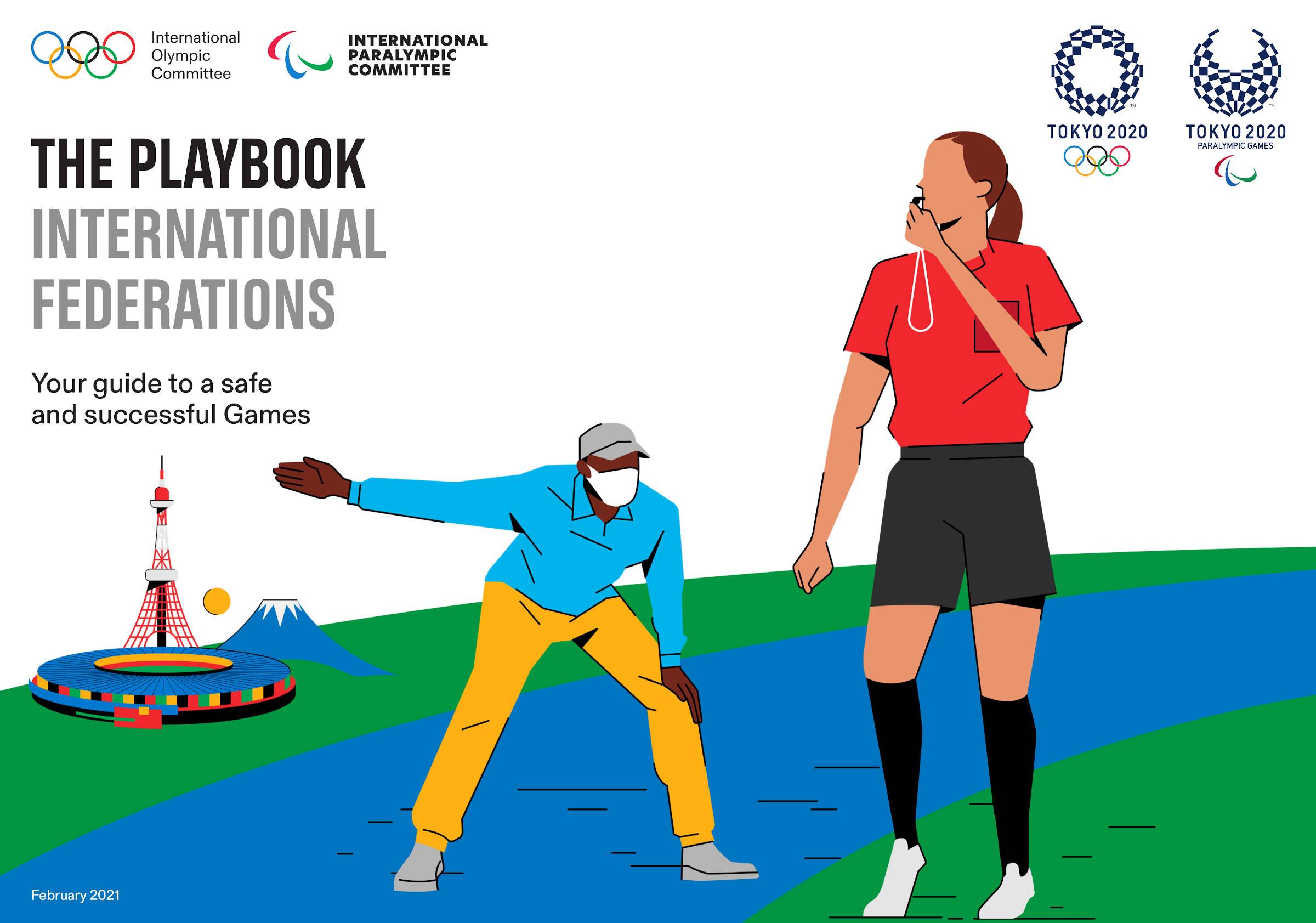 Olimpiadi Tokyo 2021, le prime linee guida: niente strette di mano, canti e applausi