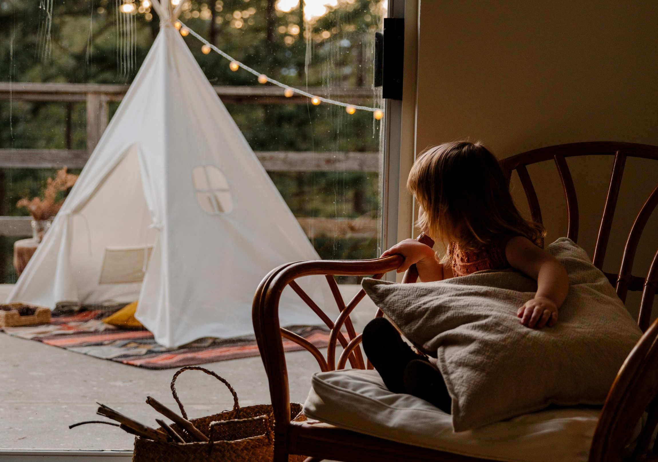 Festa del Papà, festeggia con un campeggio in casa!