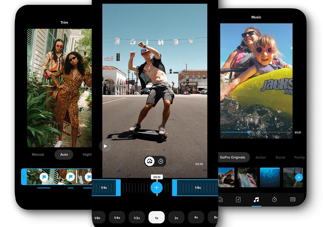 La nuova App Quik di GoPro può cambiare la vita al tuo smartphone