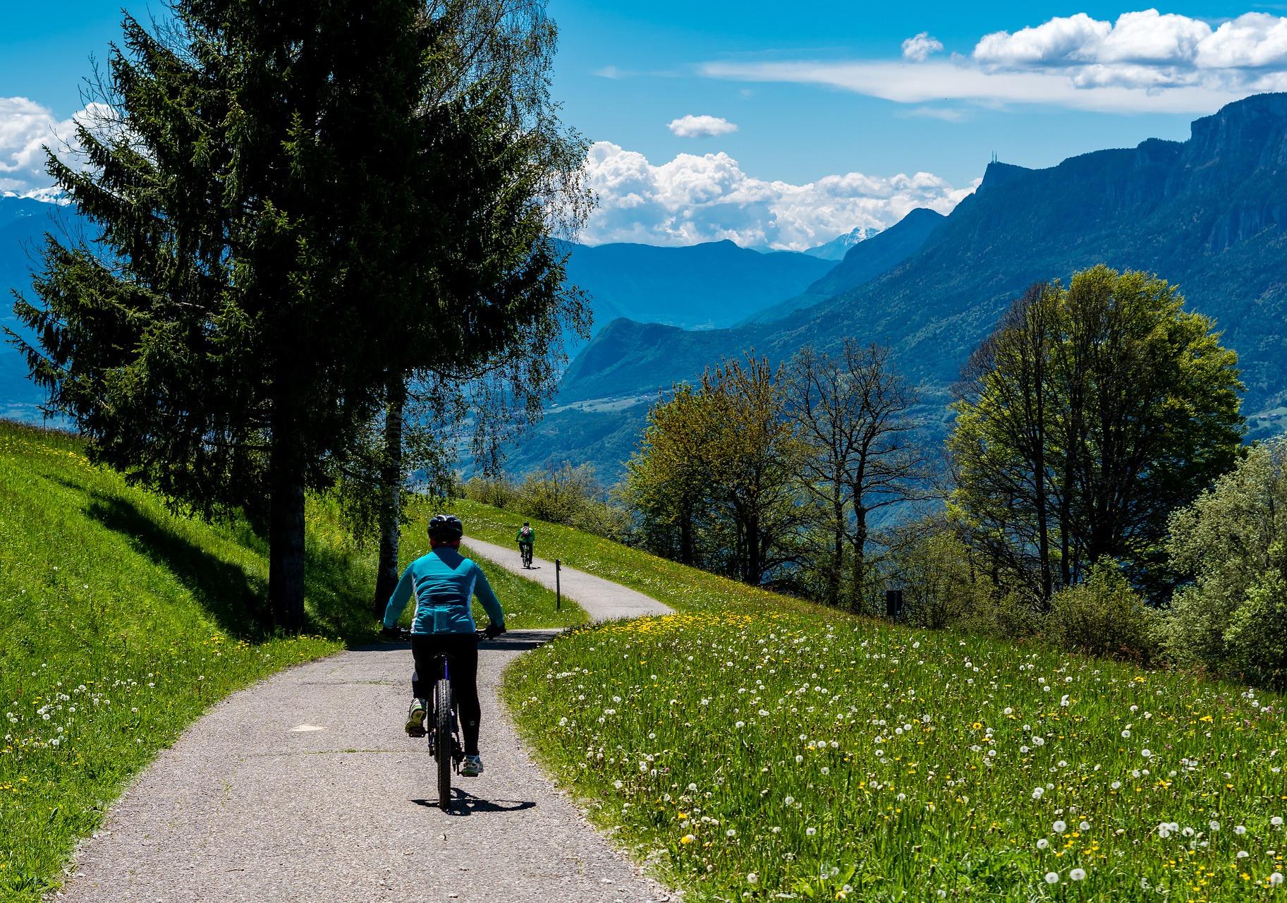 Usare la mountain bike su strada