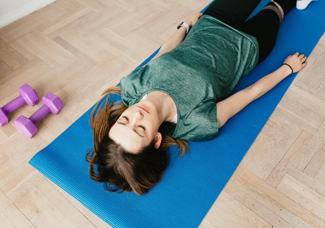 dormire bene dopo l'allenamento