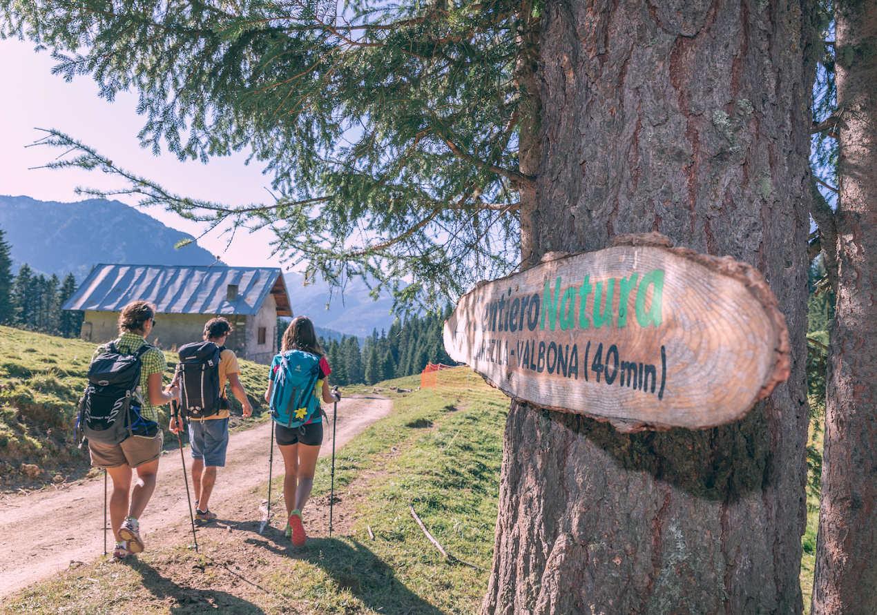 All'Alpe Lusia c'è un percorso wellness gratuito tra le Dolomiti